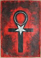 """Мастер-класс """"Ритуальная магия.Идеальные формы-символы  для управления магической энергией"""".Занятие №4. Ankh1"""
